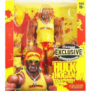 WWE Yellow Hulkamania Hulk Hogan(ハルク・ホーガン) Ringside Exclusive|bdrop