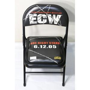 送料無料:ECW ワン・ナイト・スタンド 2005 PPV チェア bdrop
