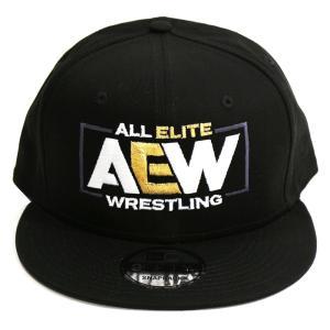 AEW Logo スナップバックキャップ 帽子|bdrop