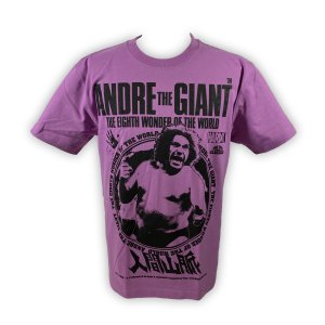 アンドレ・ザ・ジャイアント 世界8番目の不思議/アンドレ・ザ・ジャイアント(ジャイアント・ラベンダー)Tシャツ Hardcore Chocolate/ハードコアチョコレート bdrop