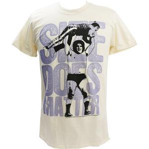 WWE Andre the Giant (アンドレ・ザ・ジャイアント) SIZE ベージュTシャツ bdrop