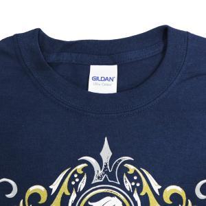 Tシャツ AEW Hangman Adam Page(ハングマン・アダム・ペイジ) Ecstasy of Gold ネイビー bdrop 05