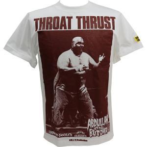 アブドーラ・ザ・ブッチャー/地獄突き(オープンタッグ・ホワイト)Tシャツ Hardcore Chocolate/ハードコアチョコレート|bdrop