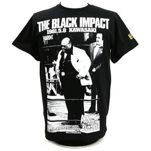Tシャツ アブドーラ・ザ・ブッチャー/KAWASAKI NIGHT(IWGPブラック) Hardcore Chocolate/ハードコアチョコレート bdrop