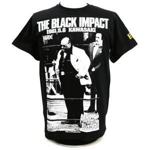 Tシャツ XXLサイズ:アブドーラ・ザ・ブッチャー/KAWASAKI NIGHT(IWGPブラック) Hardcore Chocolate/ハードコアチョコレート|bdrop
