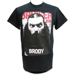 Tシャツ XXLサイズ:Bruiser Brody (ブルーザー・ブロディ) ブラック bdrop
