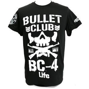 Tシャツ US版:新日本プロレス NJPW BULLET CLUB(バレット・クラブ) 4 Life|bdrop