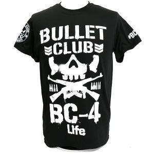 Tシャツ XXLサイズ/US版:新日本プロレス NJPW BULLET CLUB(バレット・クラブ) 4 Life|bdrop