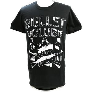 Tシャツ US版:新日本プロレス NJPW BULLET CLUB(バレット・クラブ) LA ブラック|bdrop