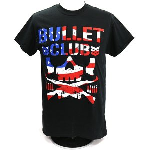 Tシャツ XXLサイズ/US版:新日本プロレス NJPW BULLET CLUB(バレット・クラブ) USA|bdrop