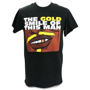 Tシャツ 【BD SALE!!! 2,160円Tシャツ】新日本プロレス NJPW バッドラック・ファレ Gold Smile|bdrop