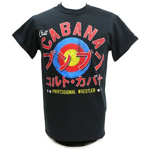 Tシャツ XXLサイズ:AEW Colt Cabana(コルト・カバナ) Colt Kamikaze ブラック|bdrop