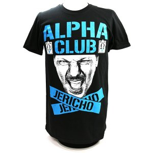 XXLサイズ:WWE Chris Jericho (クリス・ジェリコ) Alpha Tシャツ|bdrop