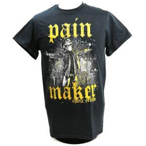 Tシャツ XXLサイズ:US版:新日本プロレス NJPW Chris Jericho (クリス・ジェリコ) Painmaker ブラック|bdrop