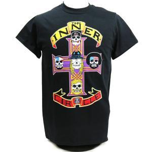 Tシャツ AEW Chris Jericho(クリス・ジェリコ) The Inner Circle Retro ブラック bdrop