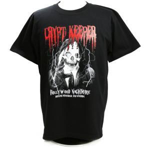 Tシャツ W★ing クリプト・キーパー ハリウッドナイトメア ブラック|bdrop