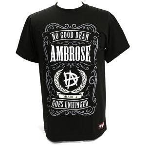 Tシャツ WWE Dean Ambrose (ディーン・アンブローズ) No Good Dean Goes Unhinged|bdrop