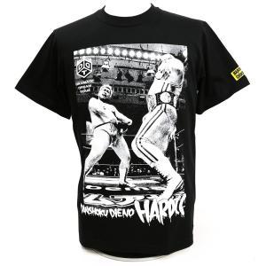 DDT 男色ディーノ/男色ドライバー(スリルブラック) Tシャツ Hardcore Chocolate/ハードコアチョコレート|bdrop