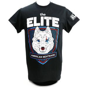 The Elite American Nightmare ブラックTシャツ|bdrop