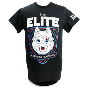 XXLサイズ:The Elite American Nightmare ブラックTシャツ|bdrop
