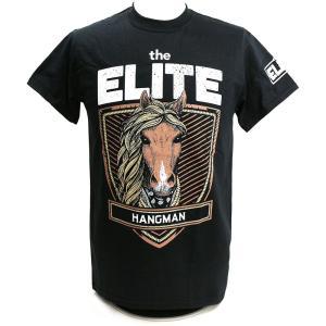 The Elite Hangman ブラックTシャツ|bdrop