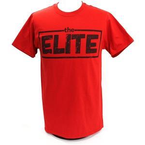 Tシャツ XXLサイズ:The Elite(ジ・エリート) レッド|bdrop