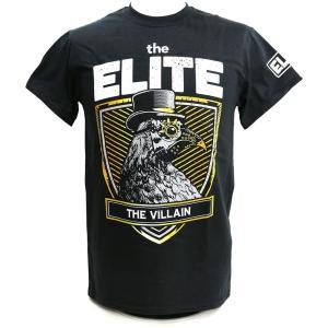 The Elite The Villain ブラックTシャツ|bdrop