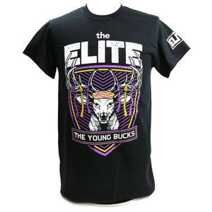 The Elite The Young Bucks ブラックTシャツ|bdrop