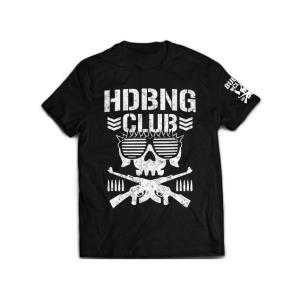 新日本プロレス NJPW エル・ファンタズモ「HDBNG CLUB」Tシャツ bdrop