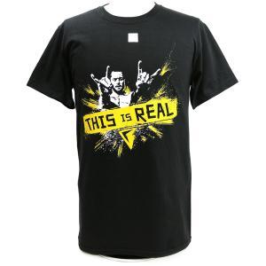 Tシャツ WWE Finn Balor (フィン・ベイラー) This is Real ブラック bdrop