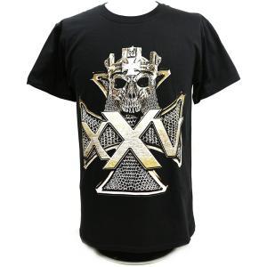 Tシャツ XXLサイズ:WWE Triple H(トリプルH) 25 Years ブラック|bdrop