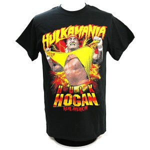 WWE Hulk Hogan(ハルク・ホーガン) Hulkamania Tシャツ|bdrop