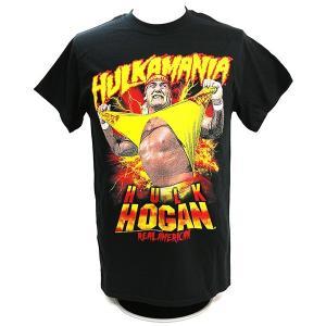 XXLサイズ:WWE Hulk Hogan(ハルク・ホーガン) Hulkamania Tシャツ|bdrop