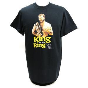 Tシャツ XXLサイズ:WWE Harley Race(ハーリー・レイス) King of the Ring  ブラック|bdrop
