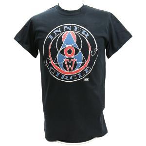Tシャツ XXLサイズ:AEW Inner Circle(インナー・サークル) ブラック bdrop