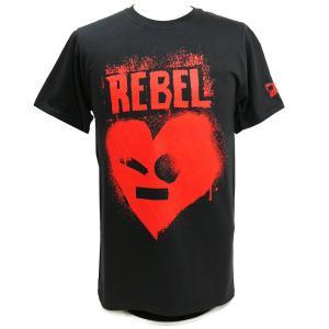 Tシャツ WWE Johnny Gargano(ジョニー・ガルガノ) Rebel ブラック|bdrop