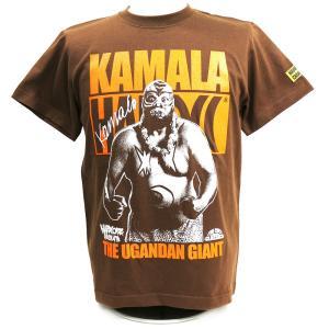 Tシャツ XXLサイズ:WWE キマラ(人喰いダークブラウン) Hardcore Chocolate/ハードコアチョコレート|bdrop