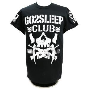 Tシャツ US版:新日本プロレス NJPW BULLET CLUB(バレット・クラブ) KENTA Go2Sleep Club ブラック bdrop
