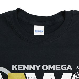 Tシャツ XXLサイズ:AEW Kenny Omega(ケニー・オメガ) Change The World ブラック bdrop 05