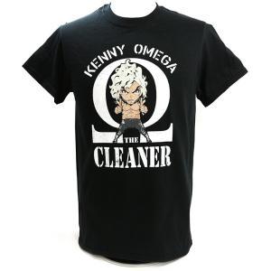 ケニー・オメガ Chibi ブラックTシャツ|bdrop