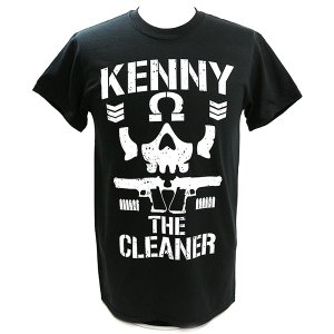 ケニー・オメガ Omega Club ブラックTシャツ|bdrop