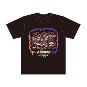 Tシャツ 新日本プロレス NJPW ロス・インゴベルナブレス・デ・ハポン L・I・J イラスト|bdrop
