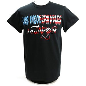 Tシャツ US版:新日本プロレス NJPW ロス・インゴベルナブレス・デ・ハポン USA ブラック|bdrop