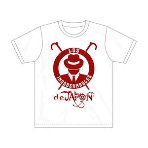 Tシャツ 新日本プロレス NJPW ロス・インゴベルナブレス・デ・ハポン L・I・J (ホワイト/2019)|bdrop