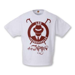 Tシャツ 3L/4Lサイズ:新日本プロレス NJPW ロス・インゴベルナブレス・デ・ハポン L・I・J(ホワイト/2019)|bdrop