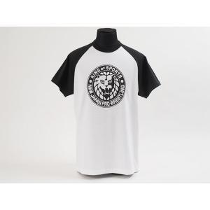 Tシャツ 新日本プロレス NJPW ライオンマーク(黒)|bdrop