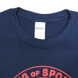 Tシャツ XXLサイズ/US版:新日本プロレス NJPW ライオンマーク USA ネイビー|bdrop|04