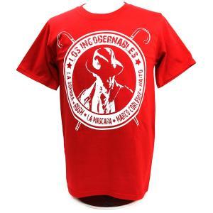 XXLサイズ:Tシャツ 新日本プロレス/NJPW 内藤哲也 ロス・インゴベルナブレス レッド|bdrop
