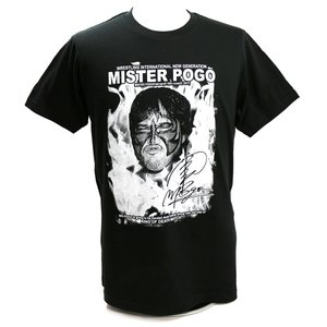 Tシャツ W★ing ミスター・ポーゴ ファイヤー ブラック|bdrop