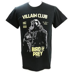 【BD SALE!!! 2,160円Tシャツ】マーティー・スカル Bird of Prey ブラックTシャツ|bdrop